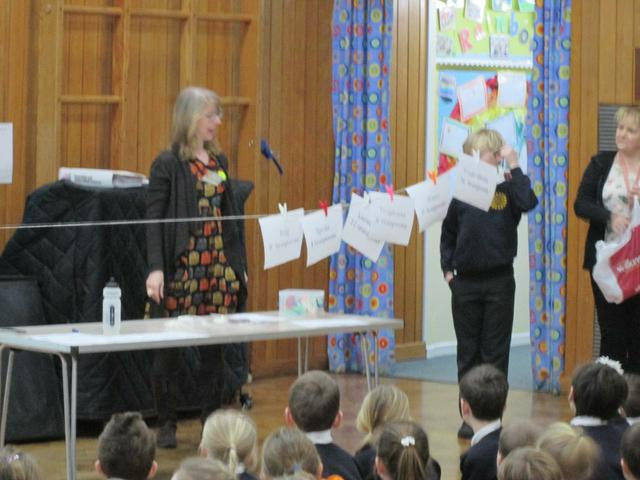 Healthy Eating Assembly - March 2016