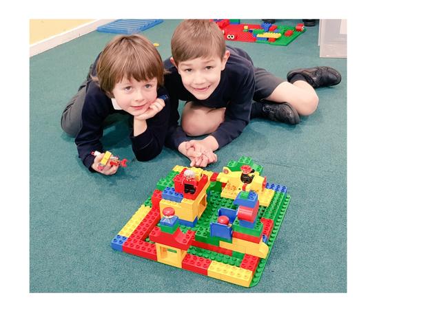 Year 2 building with Lego - Feb 2019