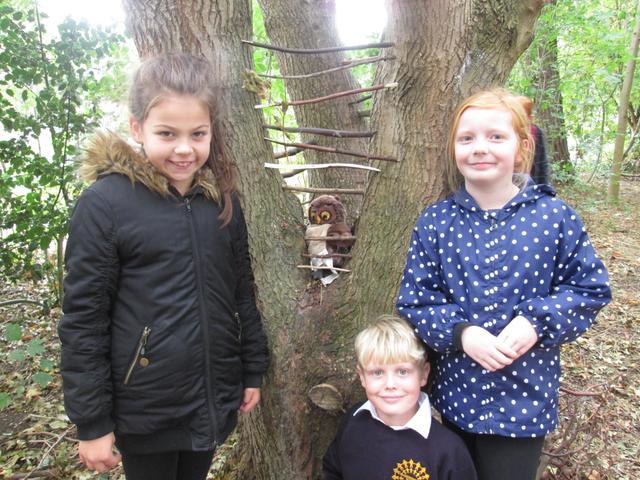 Year 4 Forest School - Oct 2018