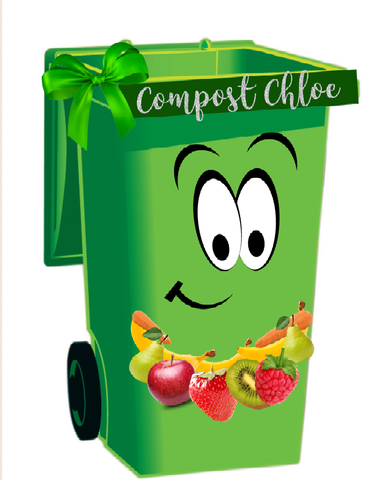 Compost Chloe - the best bin for fruit/veg waste