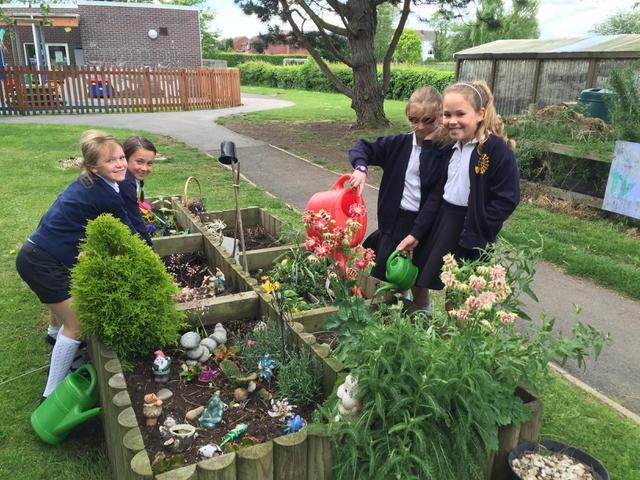 Lunchtime Gardening Club