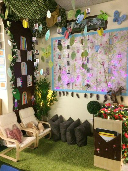 2J's colourful enchanted forest