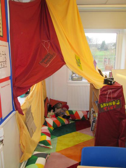 """6H's tent from """"The Boy in the Striped Pyjamas"""""""