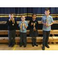 KS1 Sports Day Cup Winners