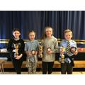 Baird, McCoy and Elliott Cup Winners