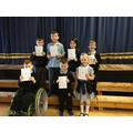 P1 - P4 June Literacy Stars