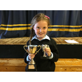 Our 2019 winner of the Progress in Numeracy Cup