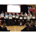 Football Club Certificate Winners