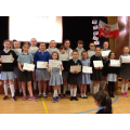 Hockey Club Certificate Winners.