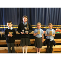Progress in Literacy or Numeracy Cups and Shields