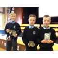 Junior Sports Cup: 1st Jack D, =2nd Ryan & Patryk