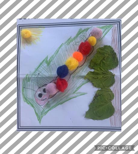 Concentrating Caterpillar - Designed by Emily