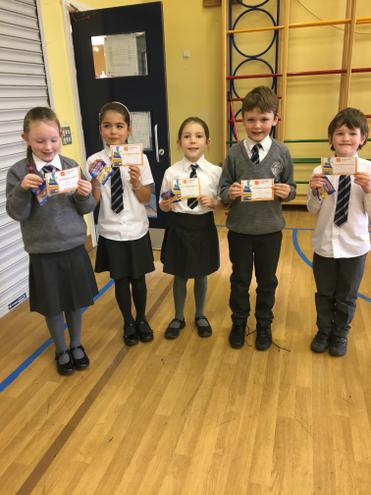 Well done to these pupils who were the first to teach their target!