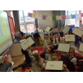 We can write the characters' names!