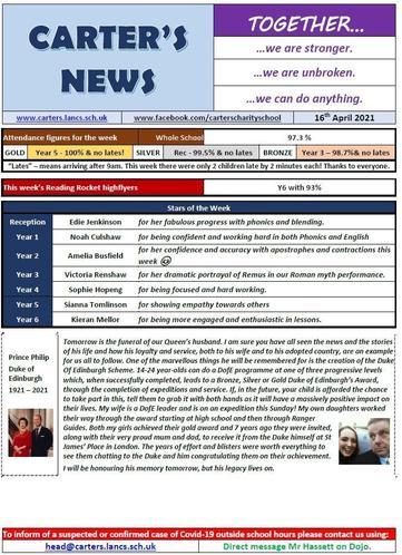 Newsletter 16042021 pt 1