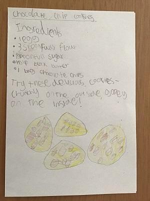 Delicious cookie recipe