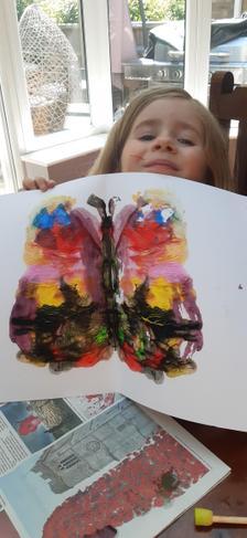 symmetrical butterflies make doubles