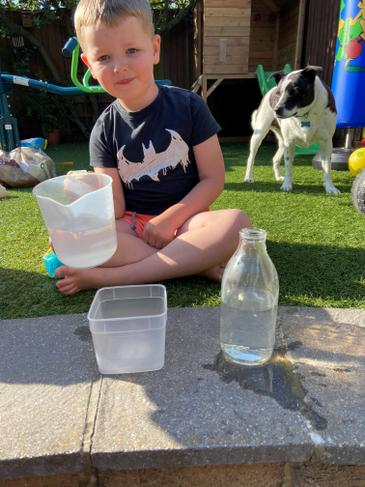 Learning about water capacity