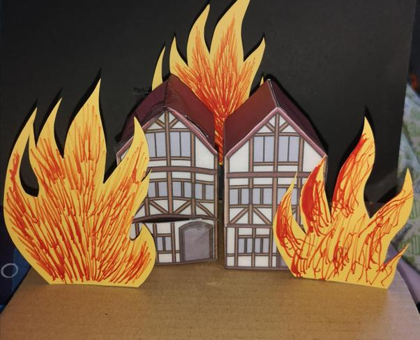 The Great Fire of London model creation