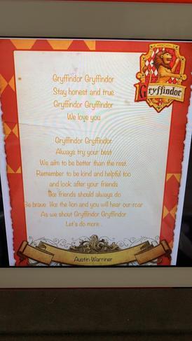 Gryffindor Poem