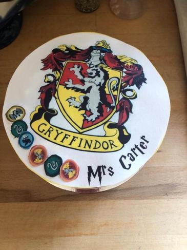 A wonderful Gryffindor cake!
