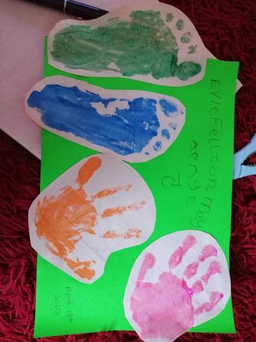 Hand and foot printing