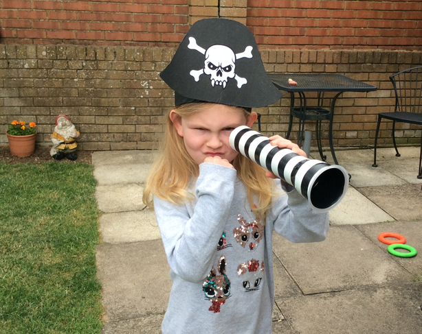 I am a pirate arggg!