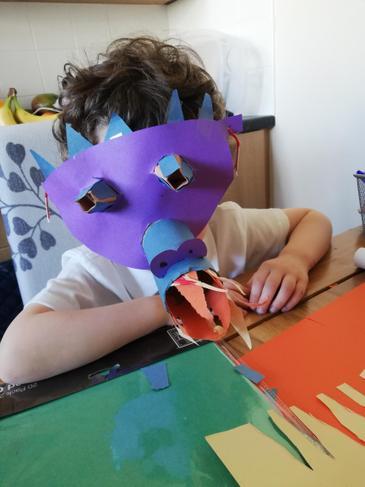 super dragon mask!