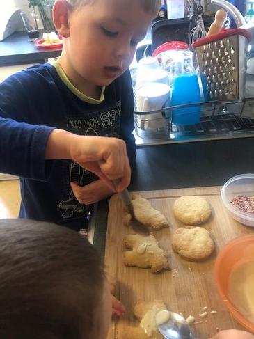Yummy shortbread biscuits