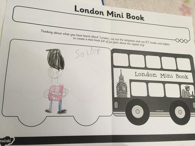 My London mini book
