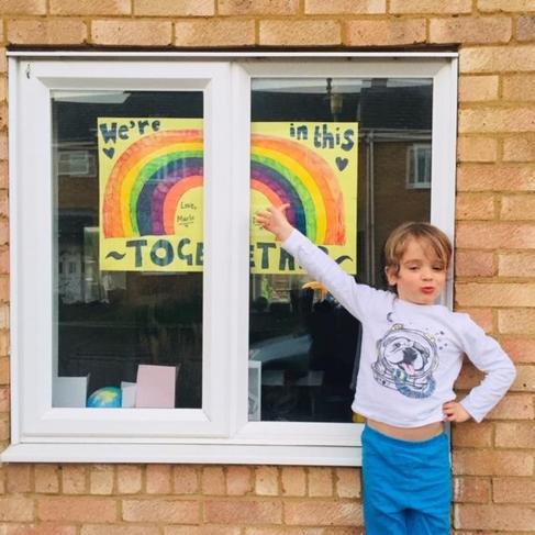 Cheering up the neighbourhood!