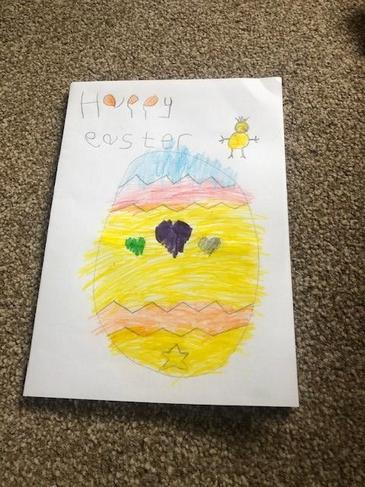 A fabulous Easter card