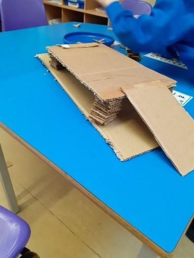 Year 1 making a stable structure - bridge
