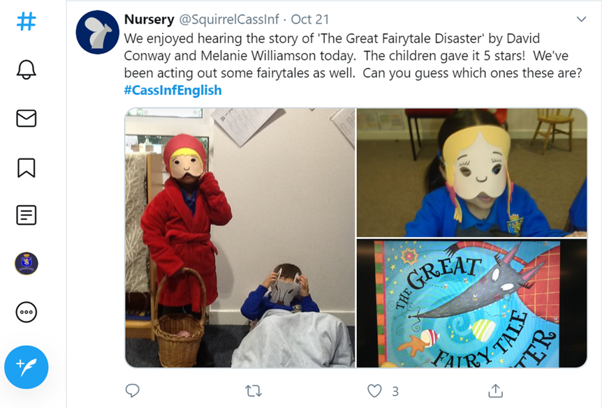 Creative Focus Week-The Great Fairy Tale Disaster
