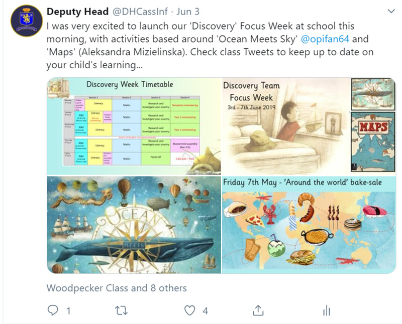 Discovery Focus Week - Where Ocean Meets Sky