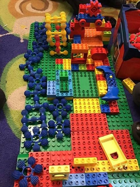 Reception - using construction kits