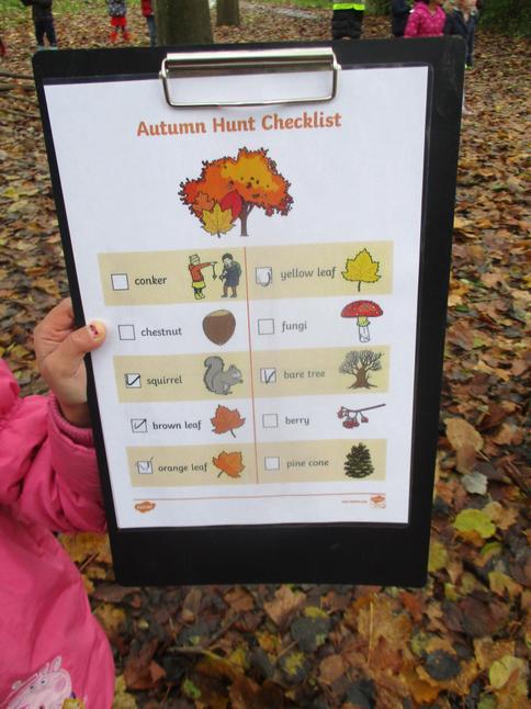 An Autumn scavenger hunt