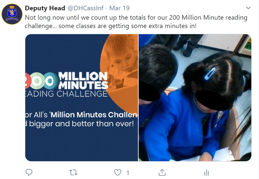 200 million minute reading challenge