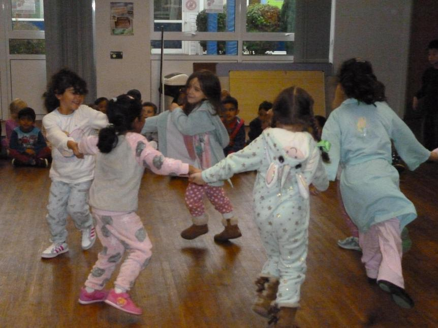 On Friday we came to school in our pyjamas!