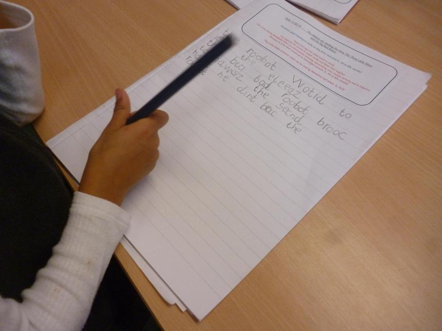 Claudia's writing