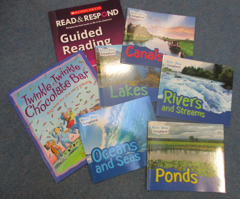 Year 1 bought topic and Guided Reading books.