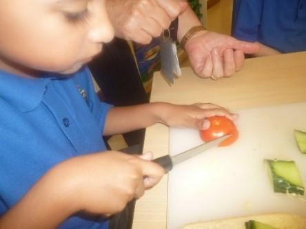 Year 1 food preparation