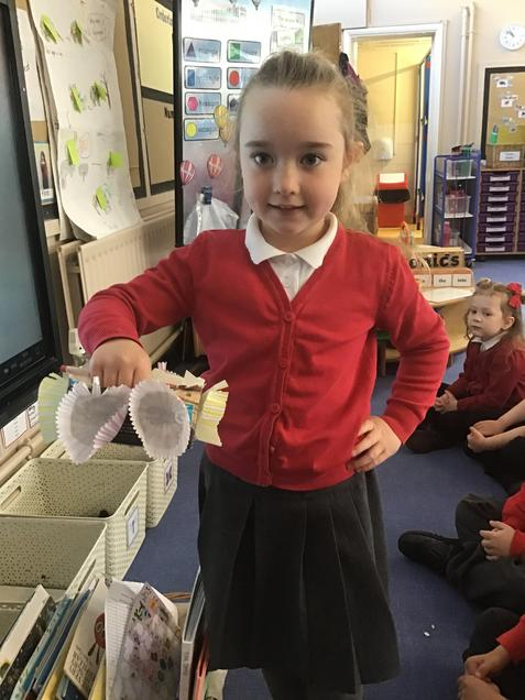 Creating a new basket for red riding hood