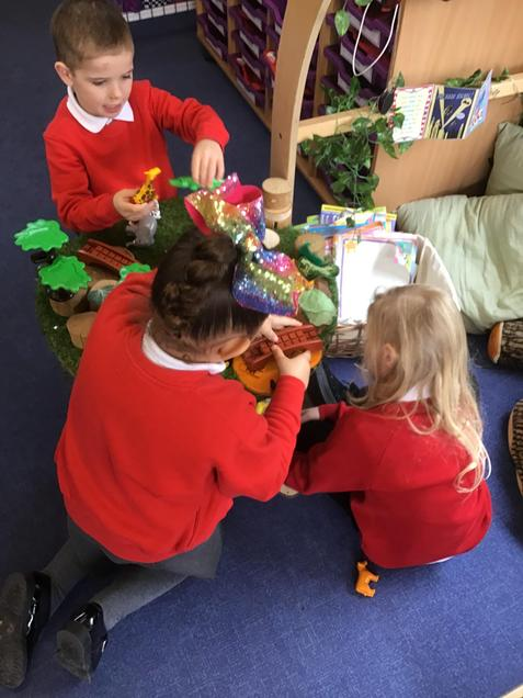 Using props to invent our own stories
