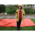 Building shelters in the rain