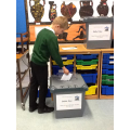 Key stage 2 school council election day