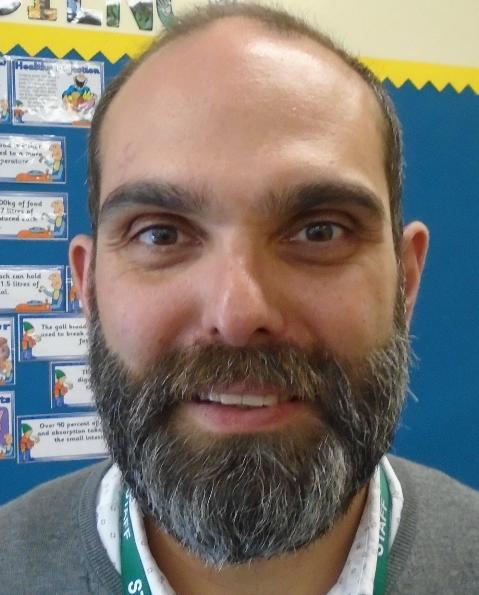 Mr Torres, Puma Teacher, Science Lead