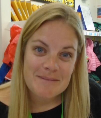 Mrs Hall, Nursery Nurse