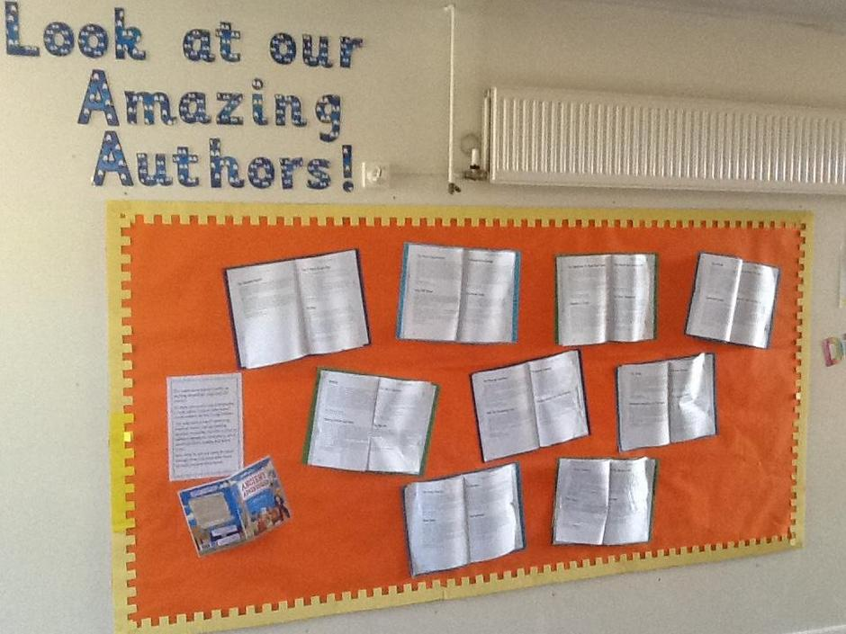Examples of pupils' story writing