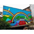 NHS Rainbow Mural